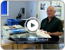 Daleprint Rochdale CreaseStream print finishing equipment client testimonial video button