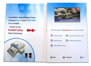 CreaseStream Video Card Instruction Guide Interior