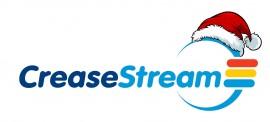 CreaseStream Christmas Logo
