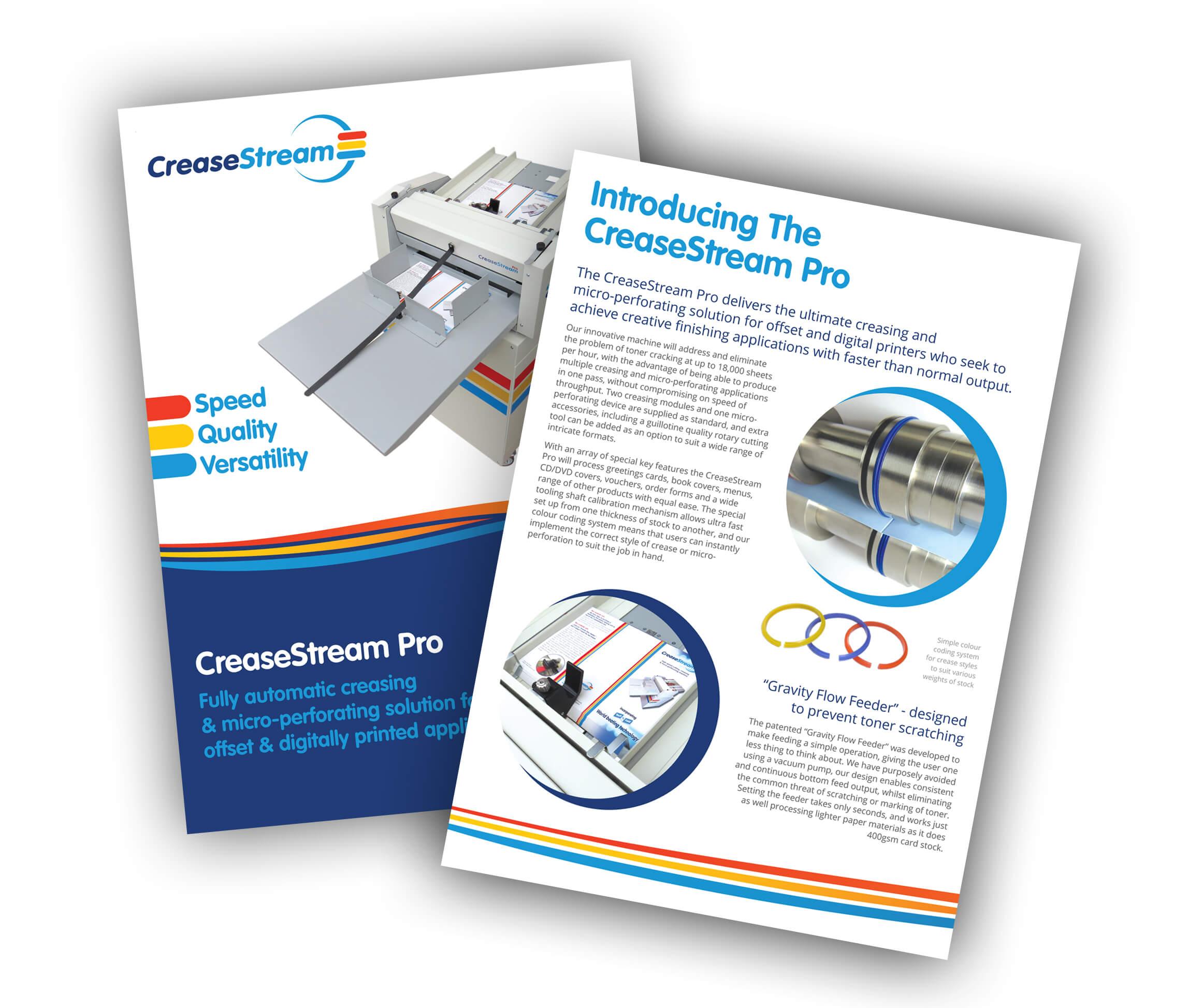 CreaseStream Pro brochure