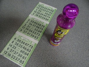 CreaseStream Christmas bingo tickets