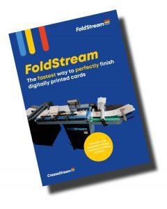 CreaseStream FoldStream brochure cover