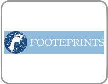 Footeprints framed