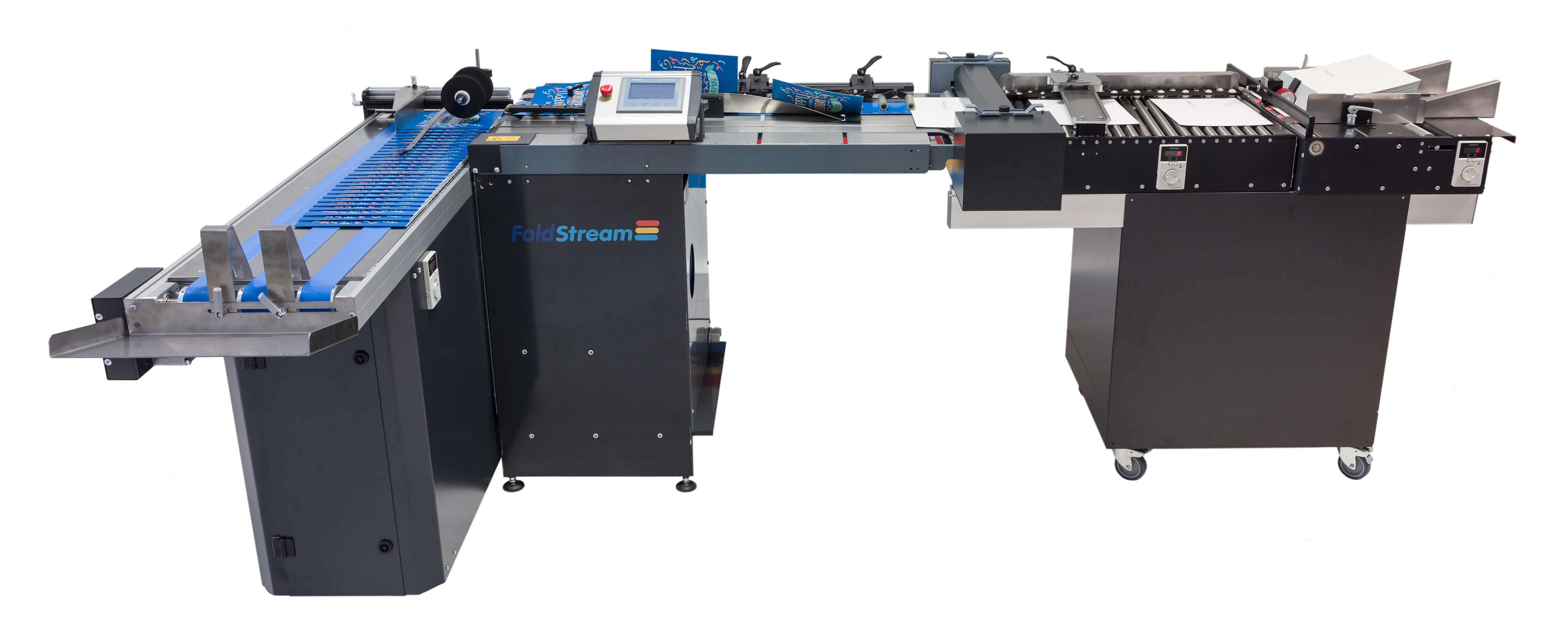 CreaseStream Foldstream digital crease and fold machine